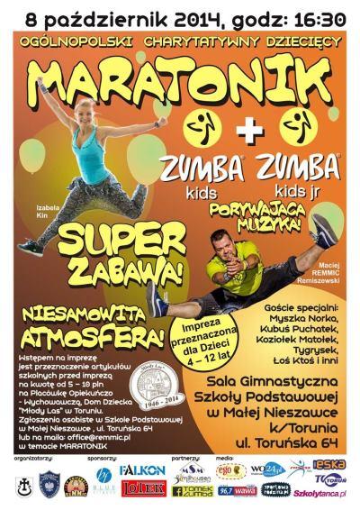 Maratonik Zumba Kids