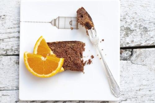Ciasto pomarańczowo czekoladowe