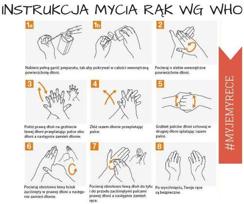 Cała Polska myje ręce