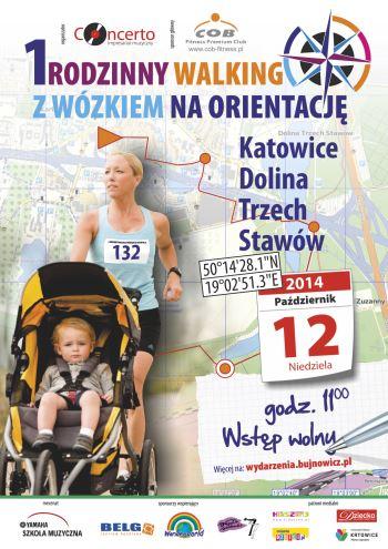 1 Rodzinny Walking z Wózkiem na Orientację